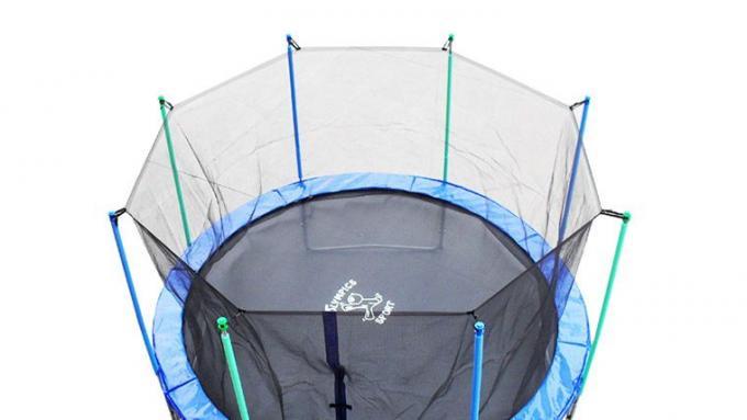 trampolina ogrodowa olympics sport 8 ft 250cm zabawki gry og oszenie komis baza og osze. Black Bedroom Furniture Sets. Home Design Ideas