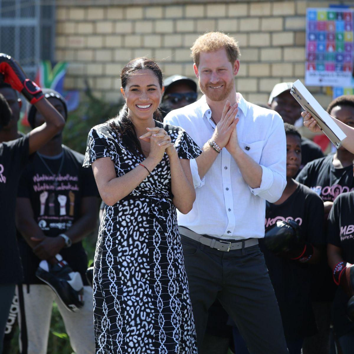 księżna Meghan w Afryce