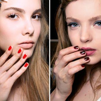 Jak Pomalować Paznokcie Do Granatowej Sukienki Czerwony A Może