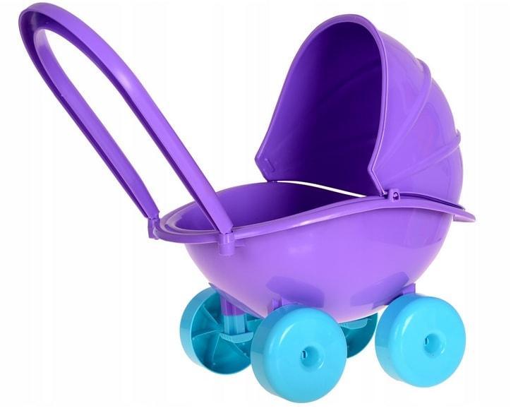 wózek dla lali plastikowy