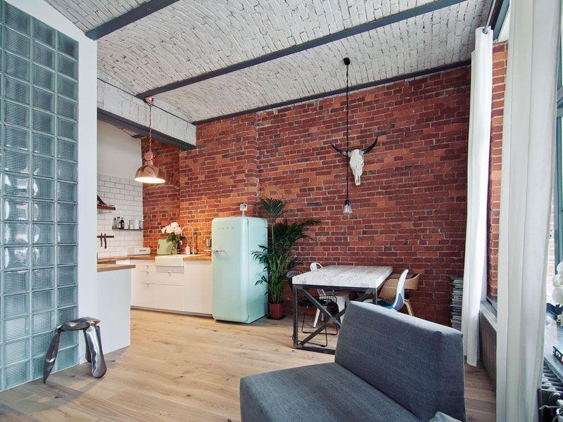 Mieszkanie w stylu loft 10 zdj aran acje wn trz for W loft