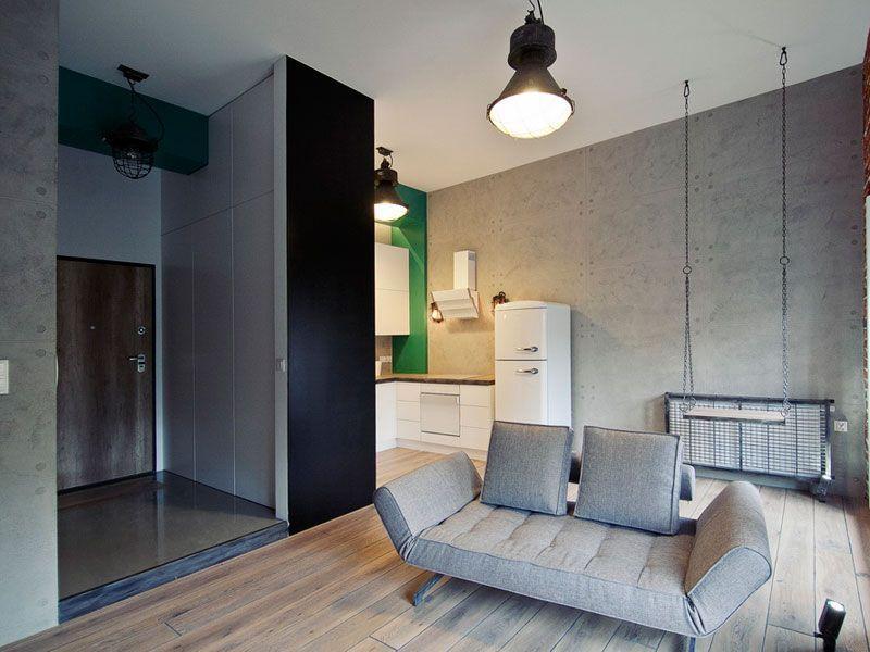 Mieszkanie W Stylu Loft 10 Zdjęć Aranżacje Wnętrz Zdjęcie 4