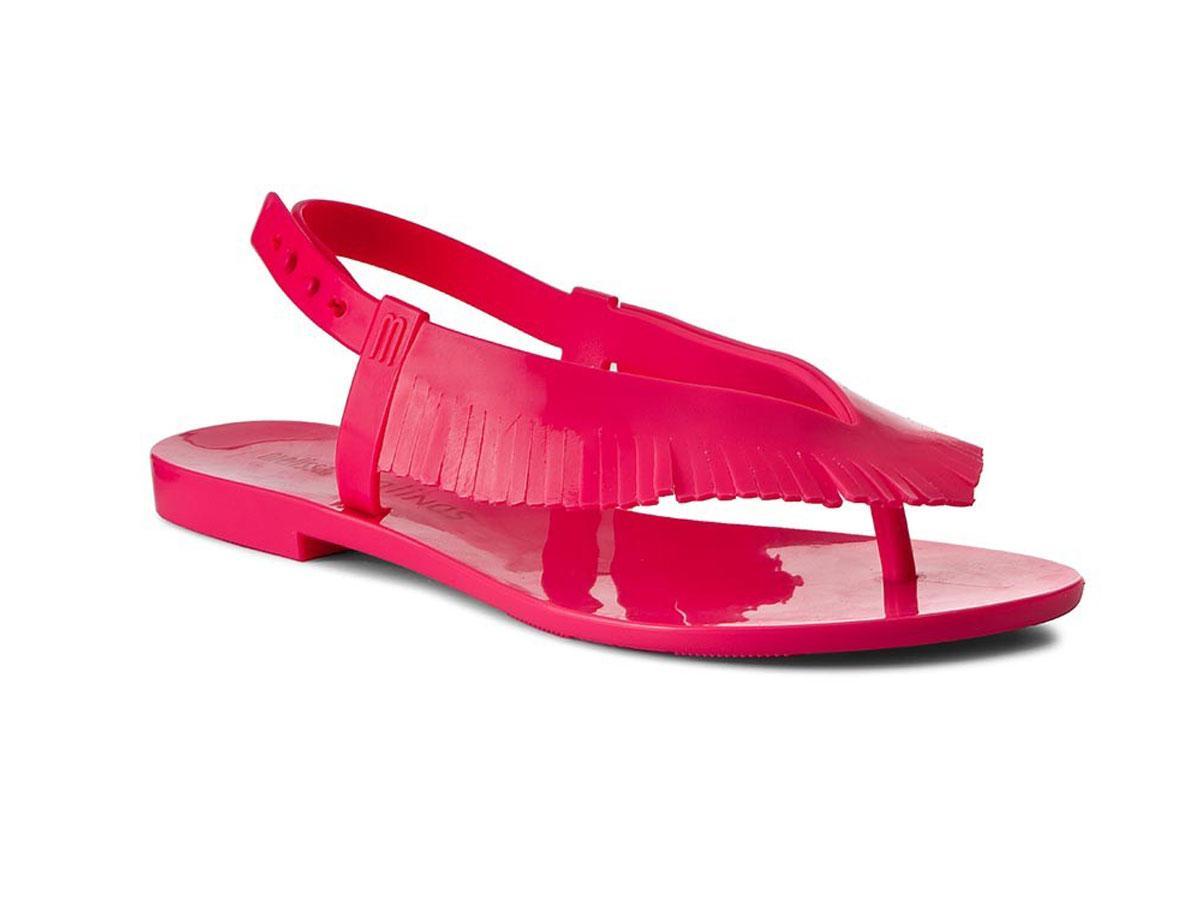 Różowe sandałki Melissa