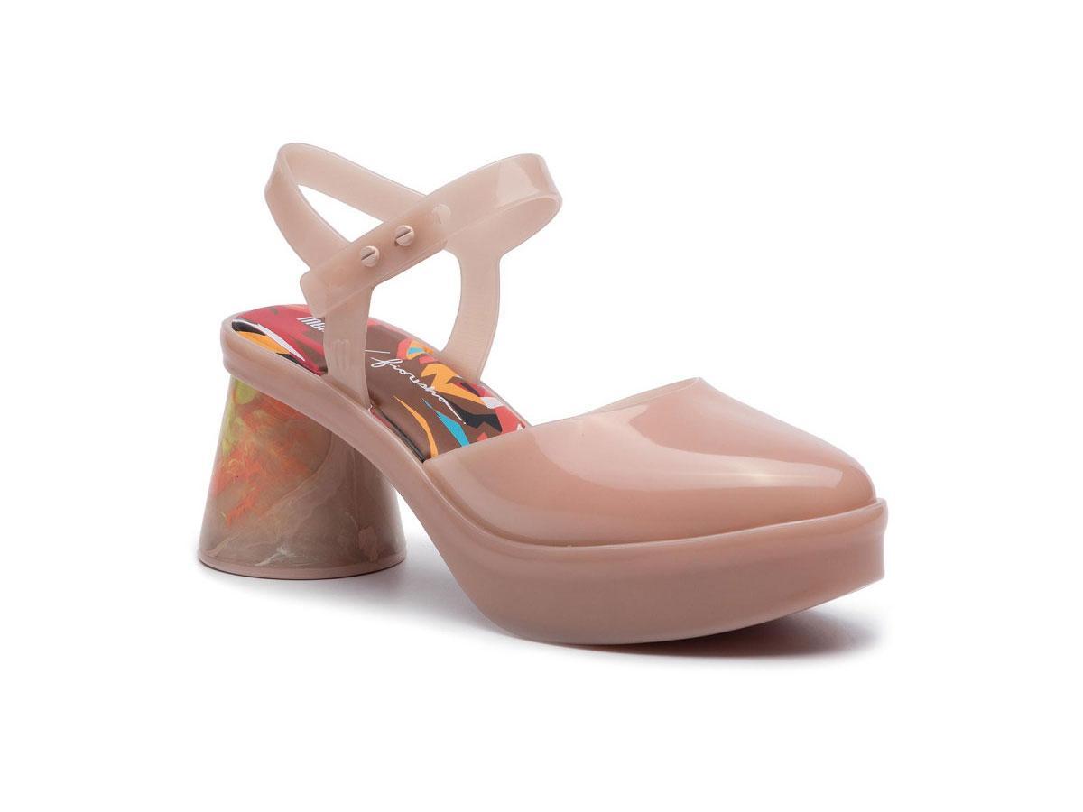 Sandały na obcasie Melissa