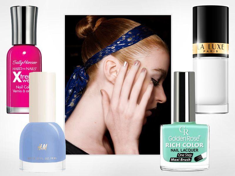 10 najmodniejszych kolorów lakierów do paznokci na lato