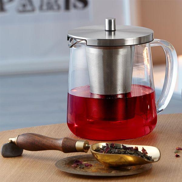 metalowy zaparzacz do herbaty