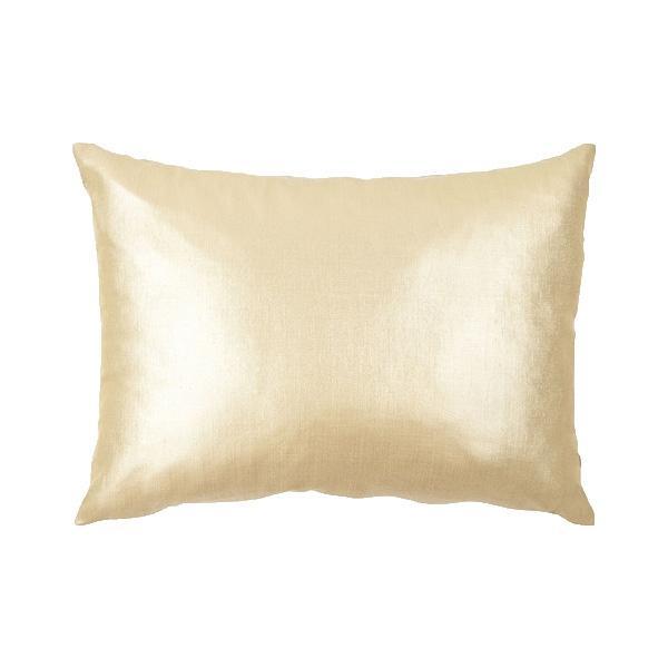 Złota poduszka Zara Home