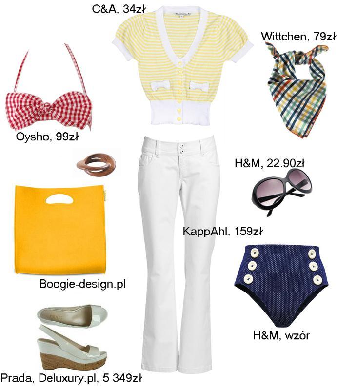 12 modnych stylizacji na maj 2009 - Zdjęcie 5