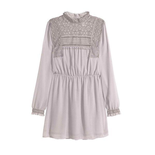 Sukienka w romantycznym stylu H&M, cena
