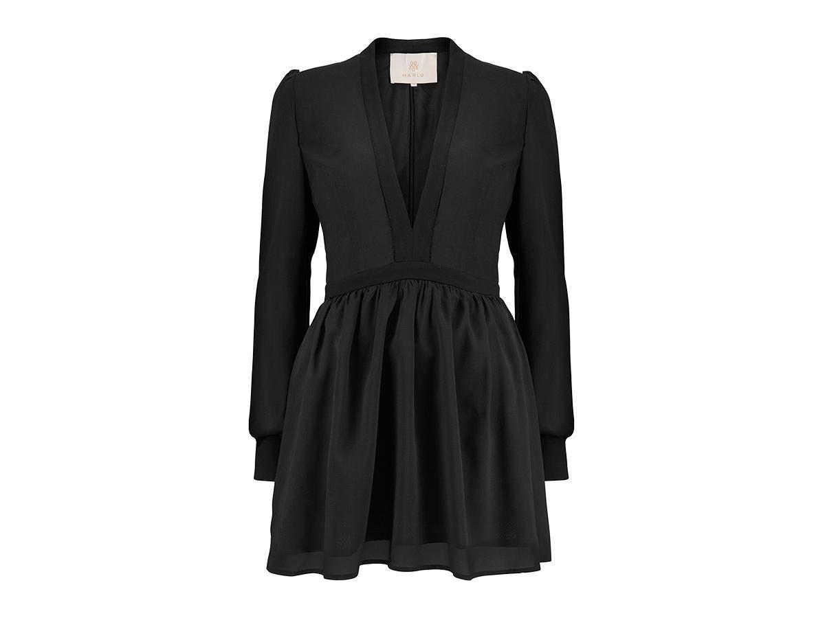 Czarna sukienka Marlu