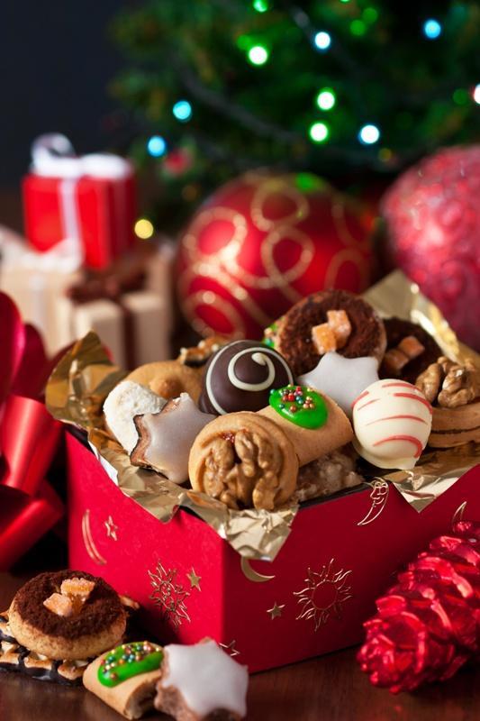 czekoladki, święta, prezenty, gwiazdka