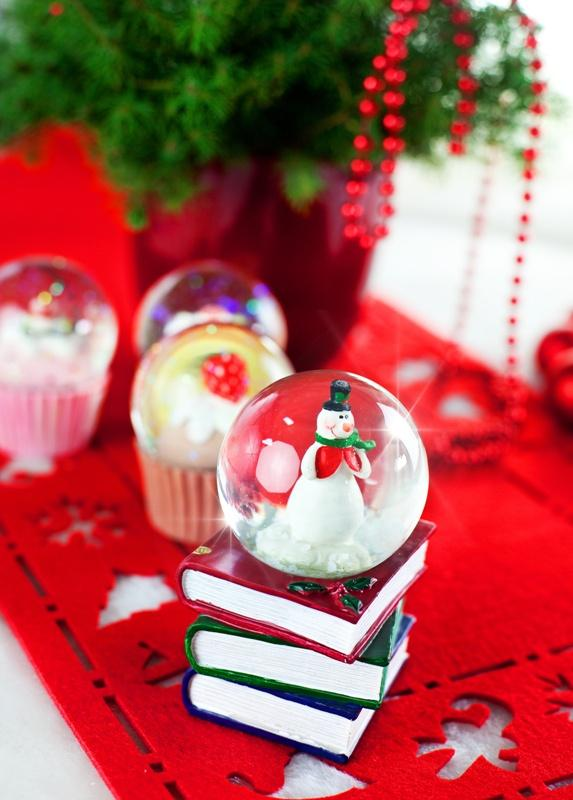 śnieżna kula, prezent, święta