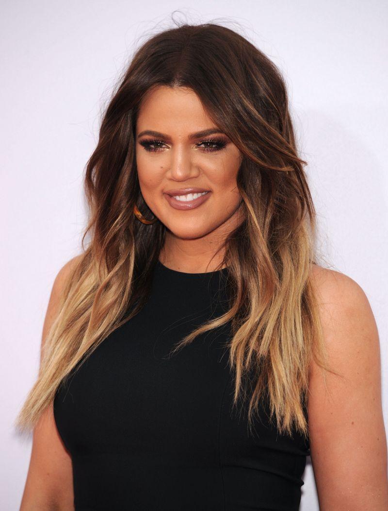 Khloe Kardashian Fryzury Dla Brunetek Modne Fryzury