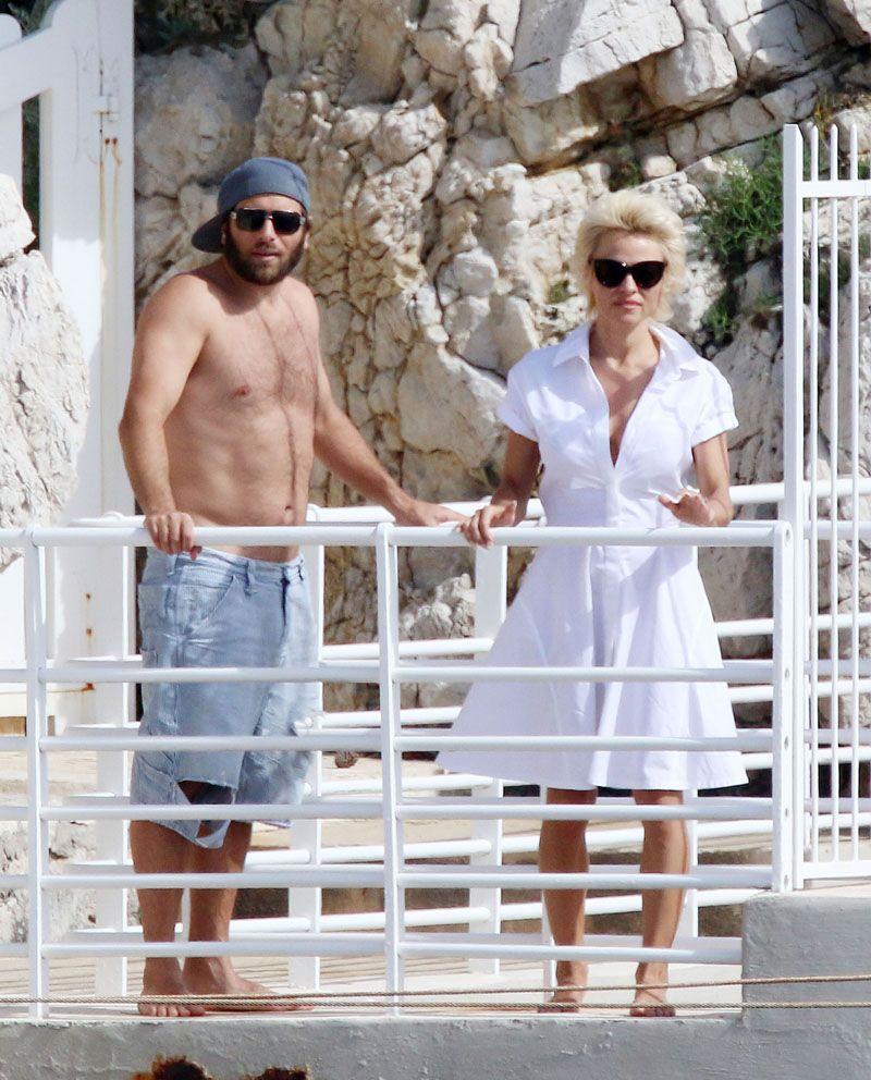 Pamela Anderson z chłopakiem, Rickiem Salomonem