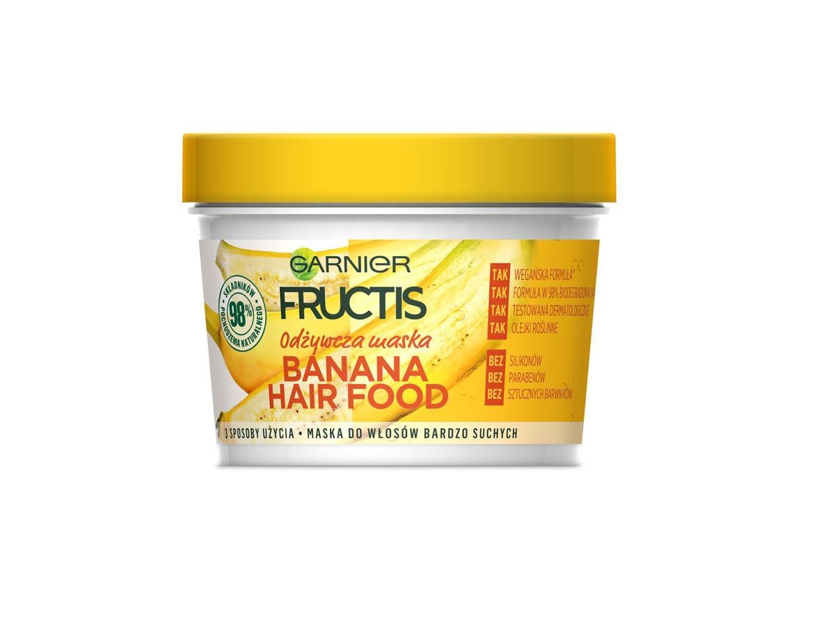 Odżywcza maseczka do suchych włosów Fructis, cena