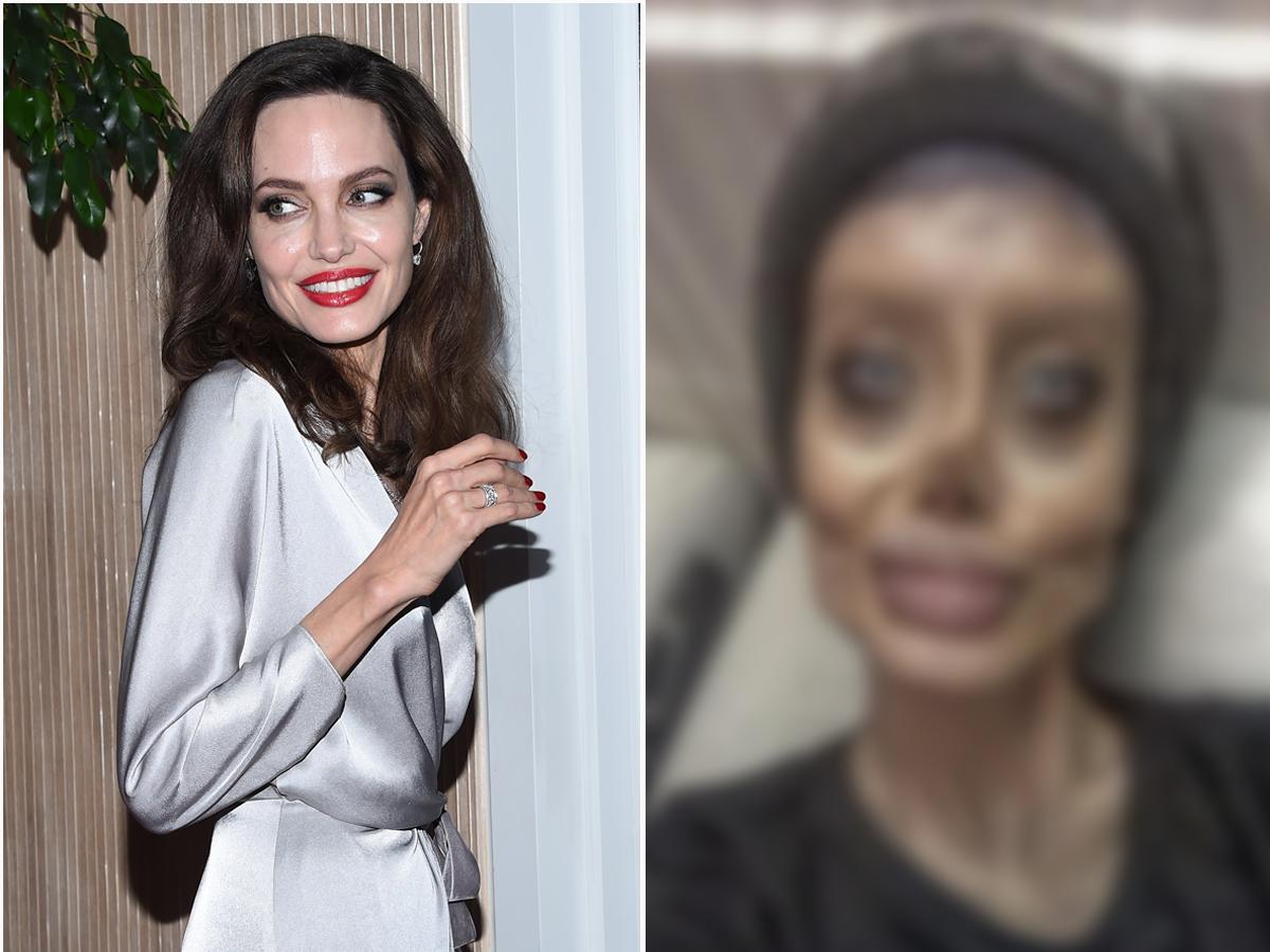 Sahar Tabar chciała upodobnić się do Angeliny Jolie