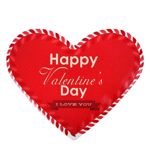 Czerwone dodatki na Walentynki: podkładka, Home&You - cena