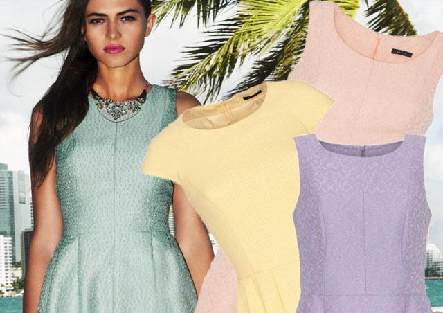 20 pastelowych sukienek na wiosnę i lato