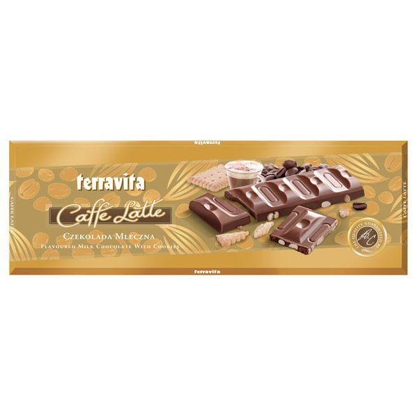 Słodkie prezenty na Walentynki: czekolada cafe latte, Terravita