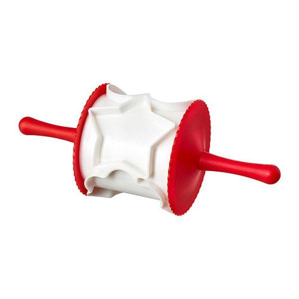 Akcesoria do wypieków świątecznych: wałek do wycinania ciasta, Ikea - cena 6.99 zł