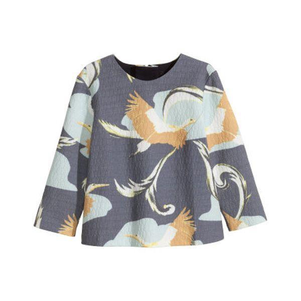 Moda wiosna 2015: bluzka H&M, cena