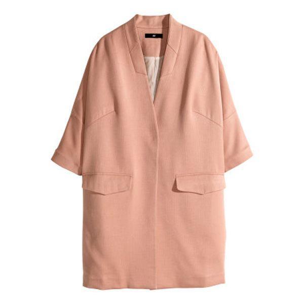 Moda wiosna 2015: płaszcz H&M, cena