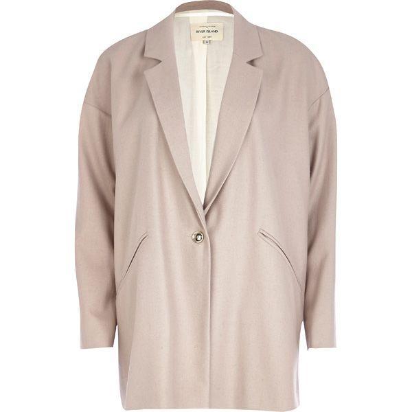 Pastelowy płaszcz na jesień River Island, cena