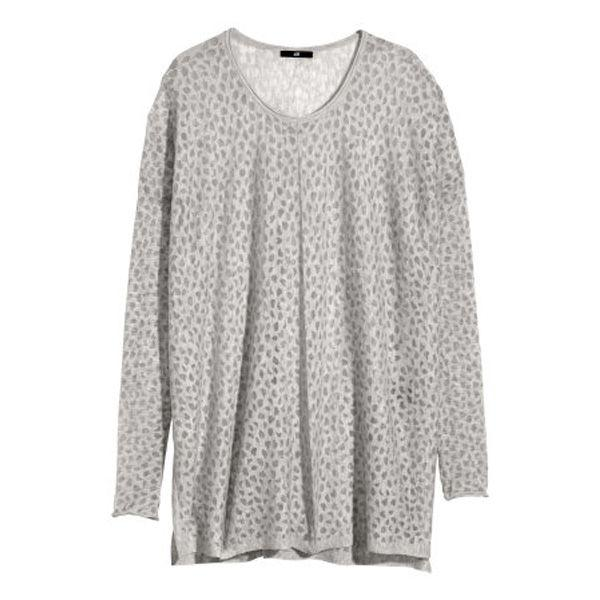 Długi sweter H&M, cena