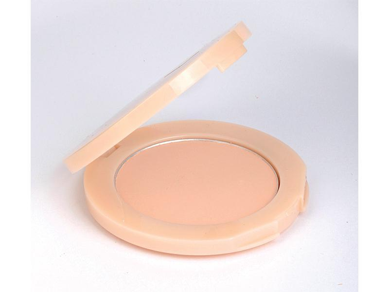 test, puder, makijaż
