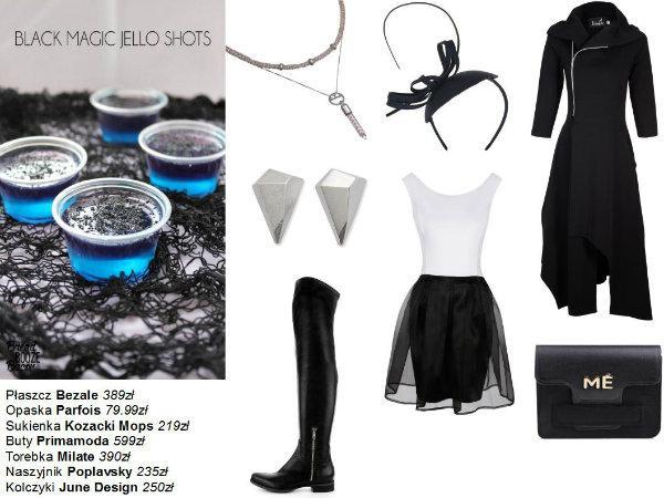 3 modne stylizacje w czerni - nie tylko na Halloween