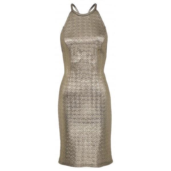 Złota sukienka Rihanna dla River Island