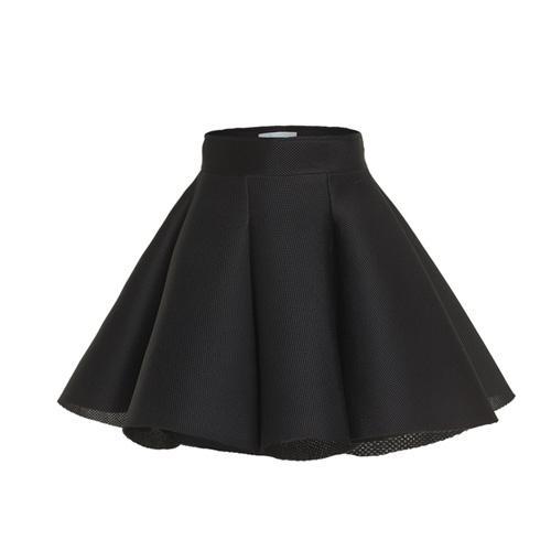 Spódnica mini, czarna, Papillon