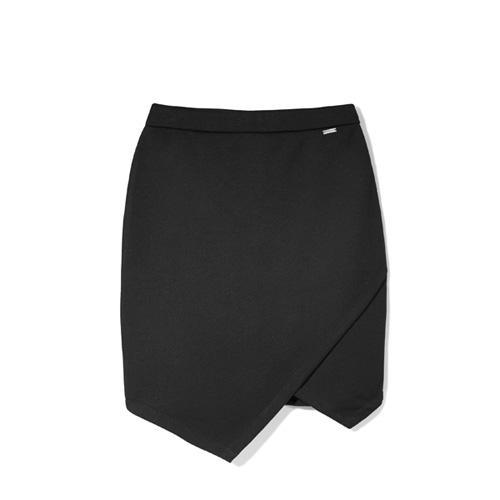 Spódnica mini, czarna, Mohito