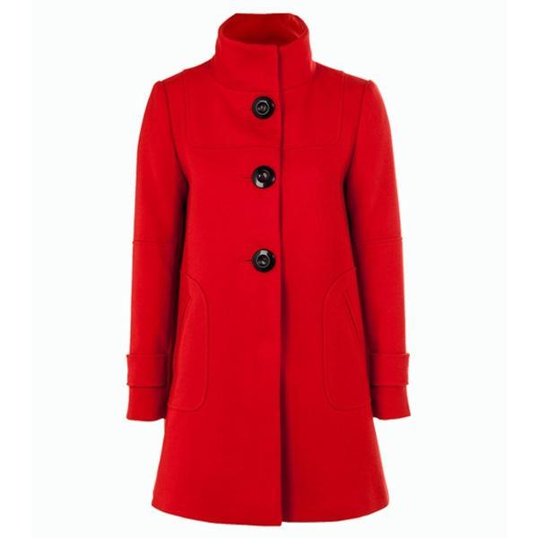 Czerwony płaszcz F&F