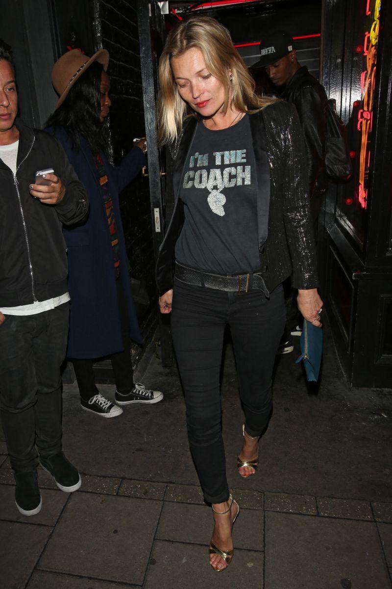Kate Moss w Londynie