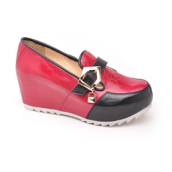 Jesienne buty na koturnie Neovision, cena