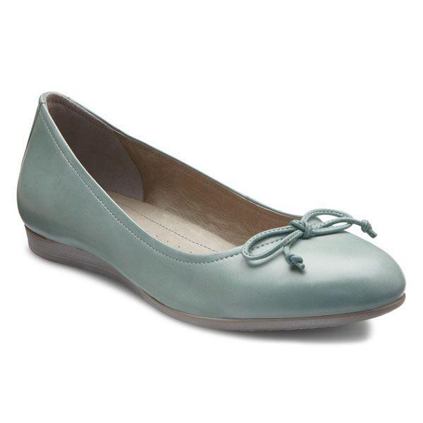 f606af31 Damskie buty Ecco - pastelowe baleriny - wiosna 2014 - Stylizacje na ...
