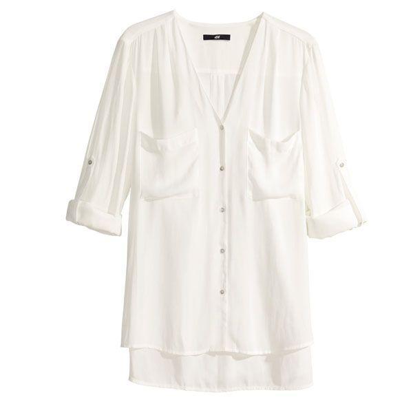 Biała koszula, H&M, cena