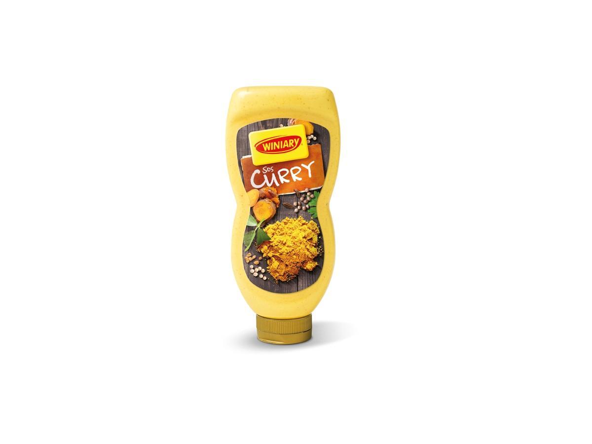Sos curry WINIARY w butelce - cena