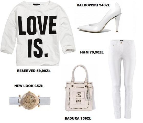 5 stylizacji w bieli - białe inspiracje