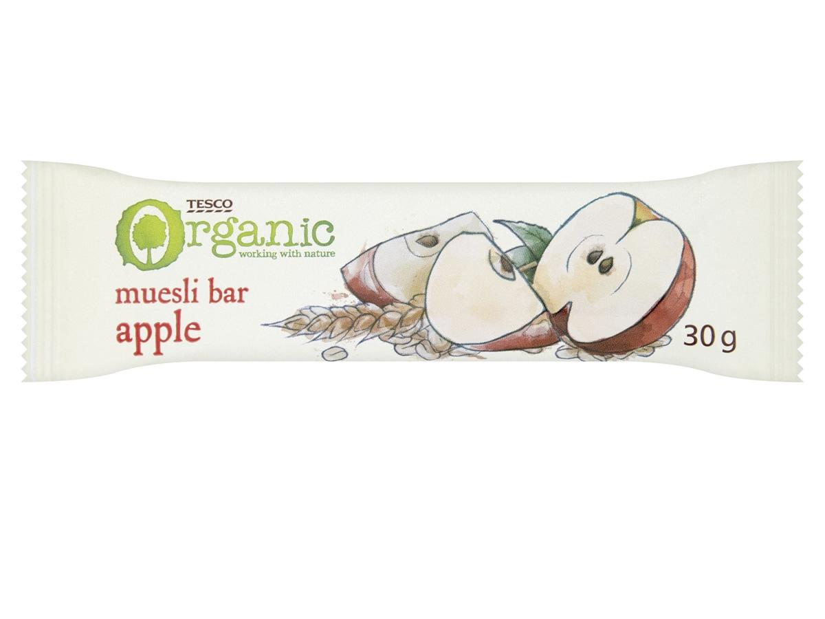 Batonik muesli jabłkowy, do kupienia w Tesco