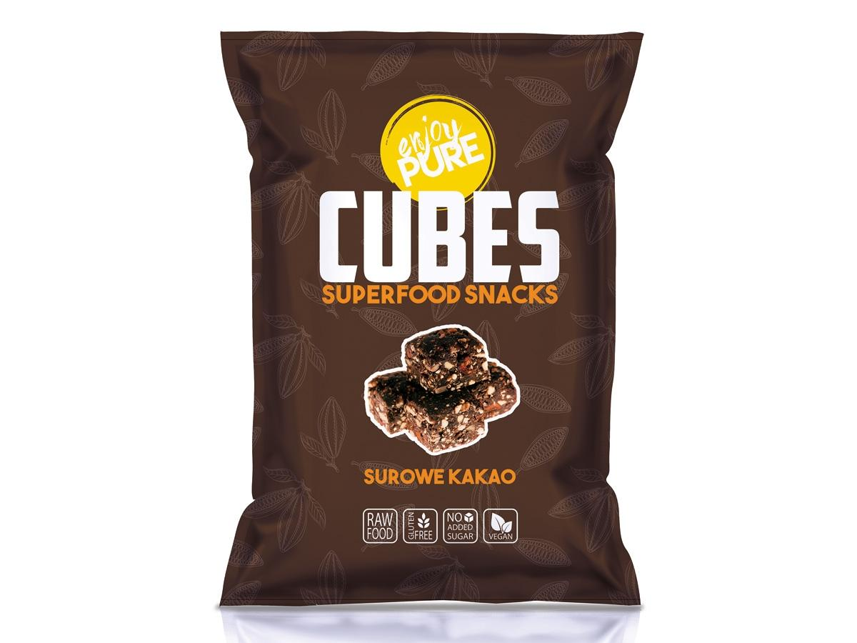 Zdrowa przekąska: kostki surowego kakao