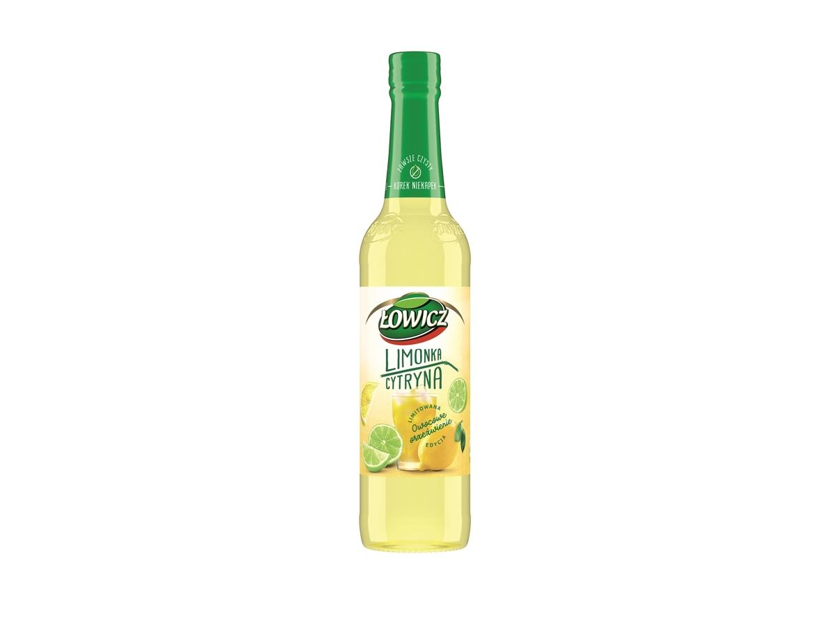 Syrop Łowicz, limonka&cytryna