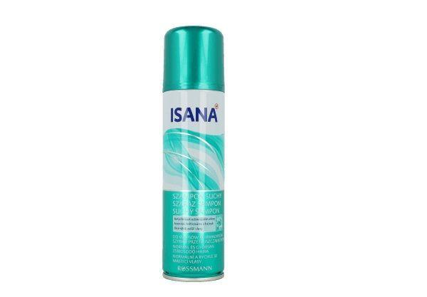 Suchy szampon, Isana, cena: ok. 11 zł.