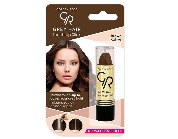 Gray Hair Touch-Up Stick - sztyft na odrosty - Golden Rose, cena: ok. 11 zł.