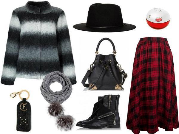 6 modnych stylizacji na chłodne dni