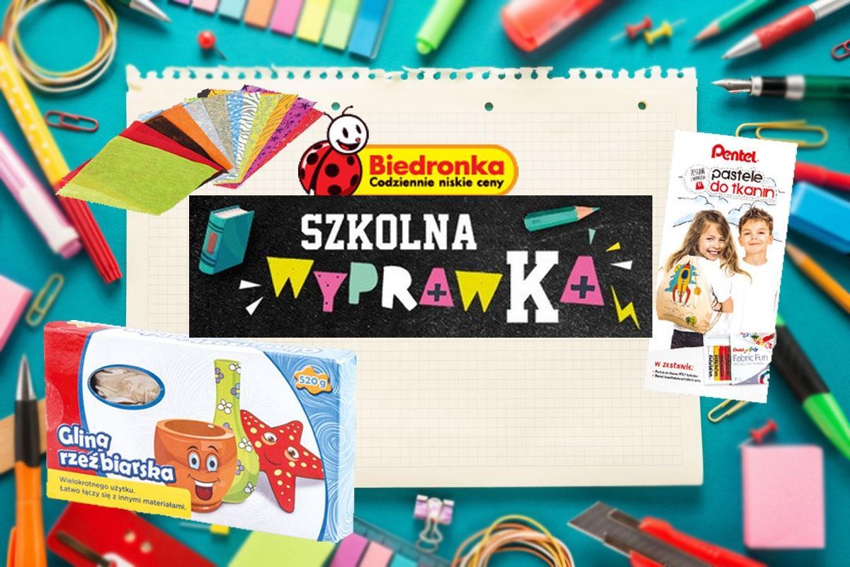 wyprawka szkolna z Biedronki