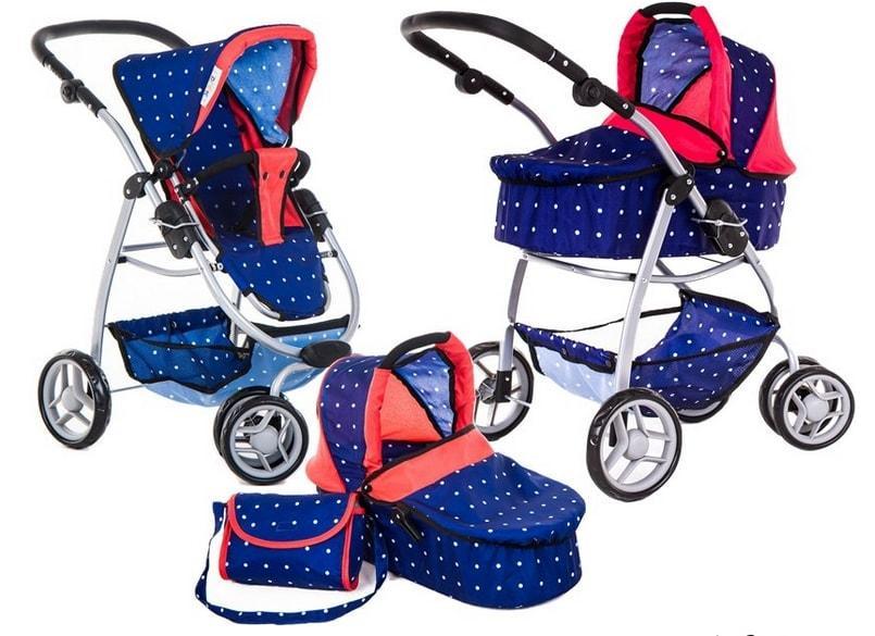 wózek dla lali 4 w 1 Doris