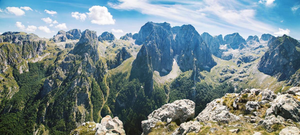 Czarnogóra, góry Prokletije