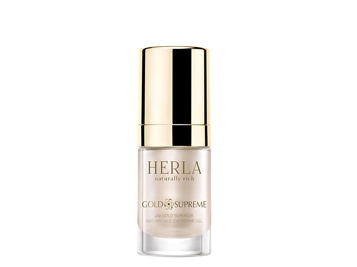 Przeciwzmarszczkowy żel do okolic oczu Gold Supreme, Herla, cena